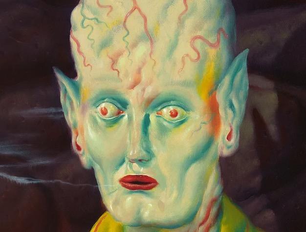 Super creepy new paintings by Ryan Heshka   Boing Boing