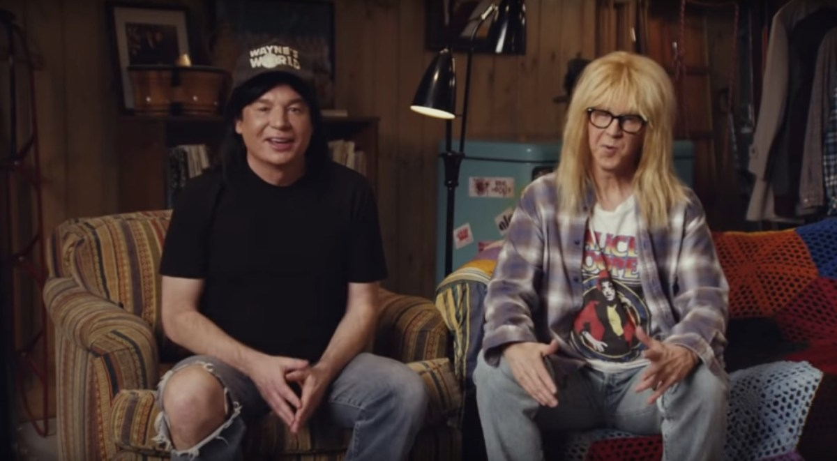Wayne's World is back! And their extended Super Bowl ad is amazing   Boing Boing