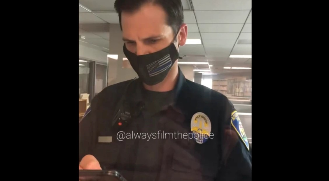 Cops playing copyrighted music to stop video of them being posted online | Boing Boing