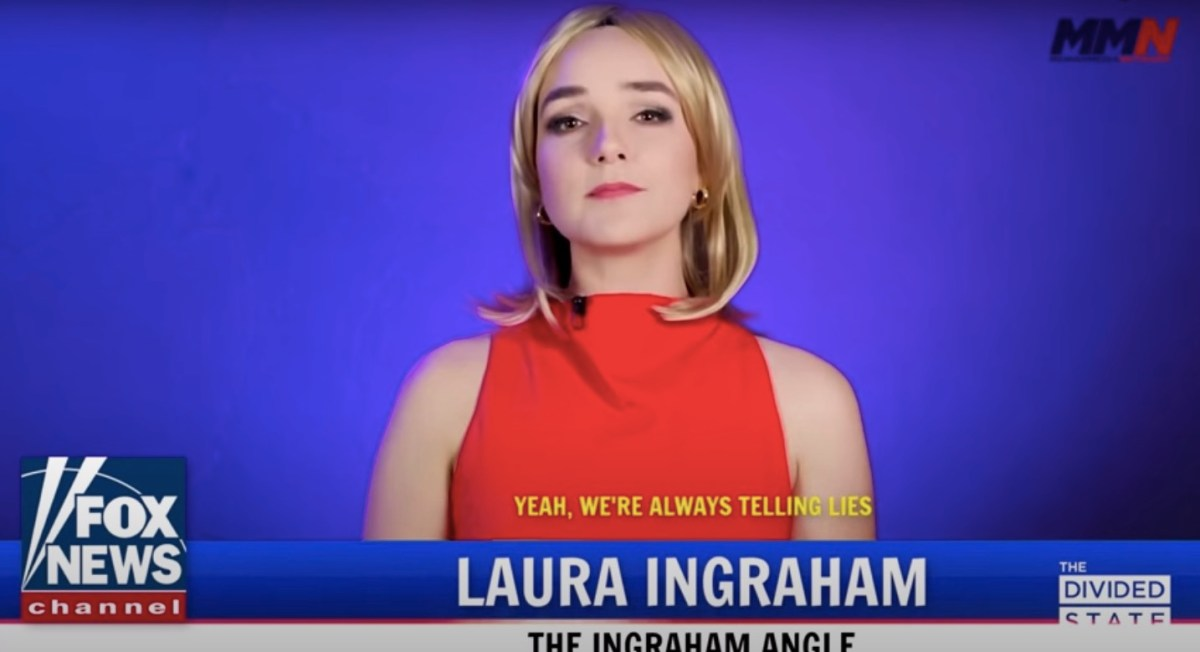 Watch: Laura Ingraham finally admits to all of Fox's 'Bad Faith' BS (a George Michael parody) | Boing Boing