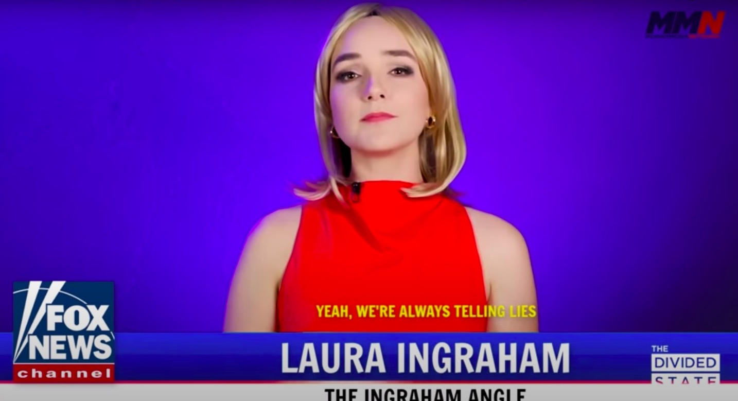 Watch: Laura Ingraham finally admits to all of Fox's 'Bad Faith' BS (a George Michael parody)