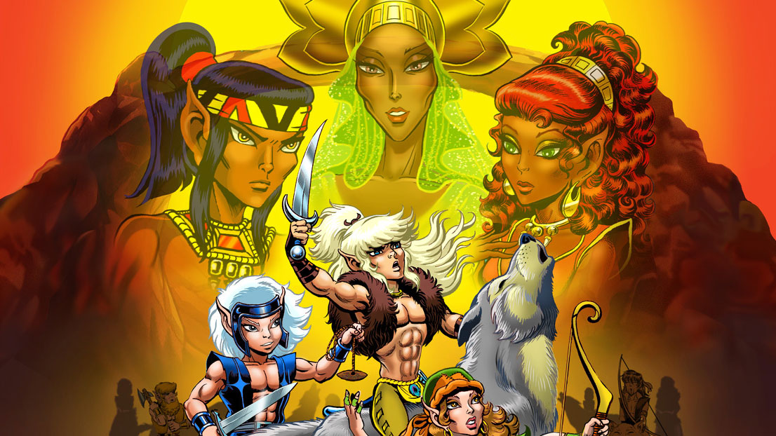 Elfquest audio movie announced, with livestream event Friday | Boing Boing