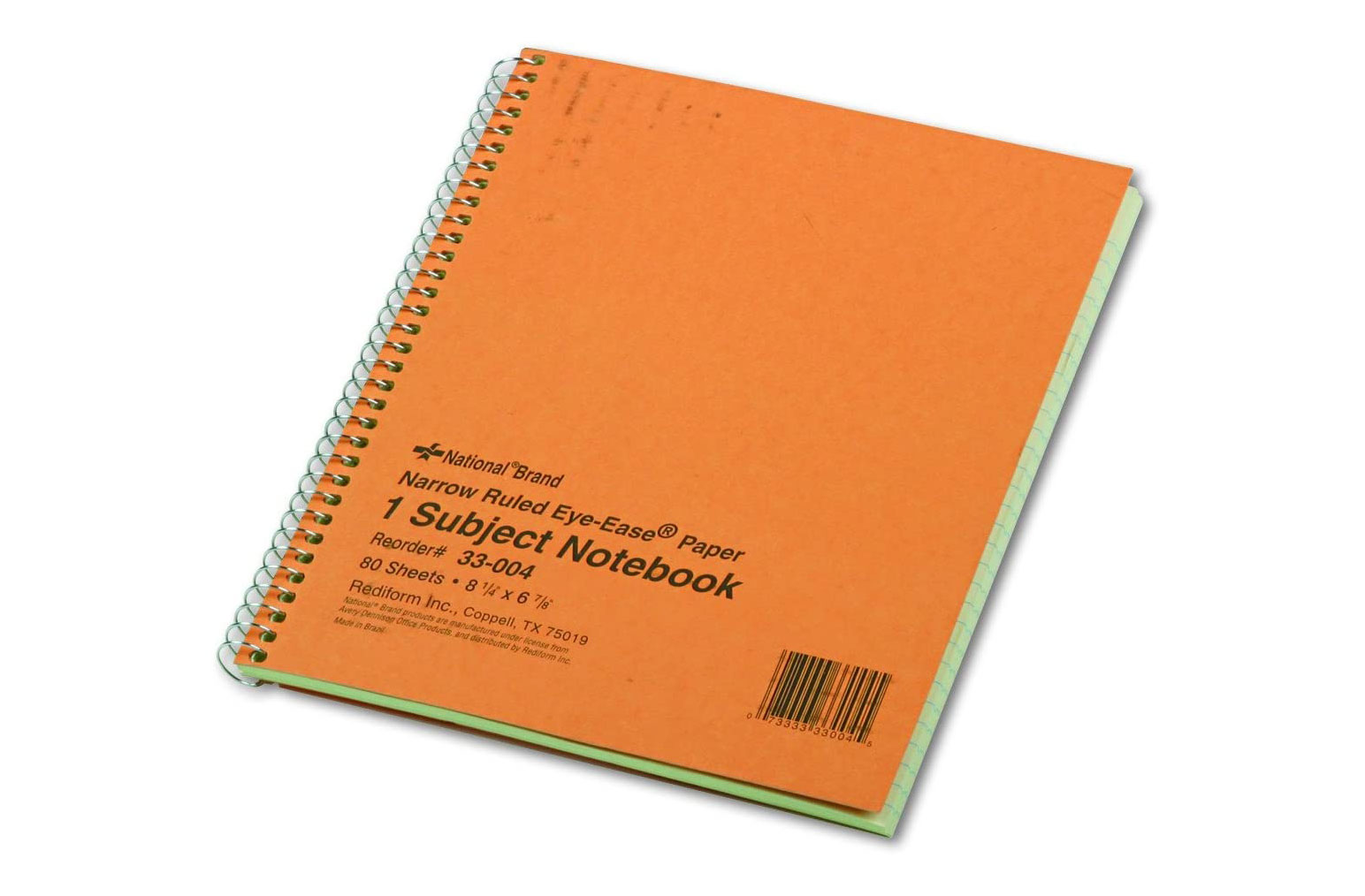These green-paged memo notebooks are perfect