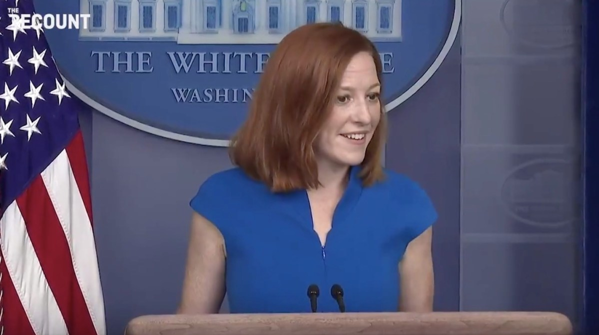 Jen Psaki turns the table on Fox's Peter Doocy by asking him a few 'gotcha' questions of her own | Boing Boing