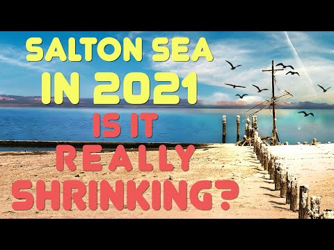 A 2021 update on the disappearing Salton Sea | Boing Boing