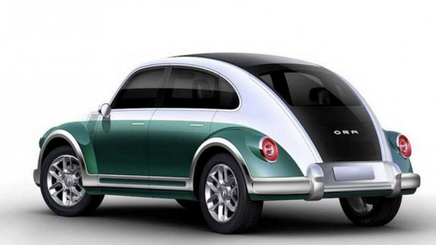 This wild VW Beetle knockoff is an EV called the Ora Punk Cat