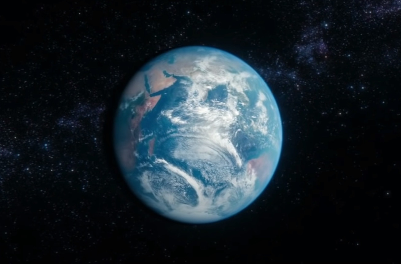 Today is Earth Day. Watch this message from Carl Sagan.