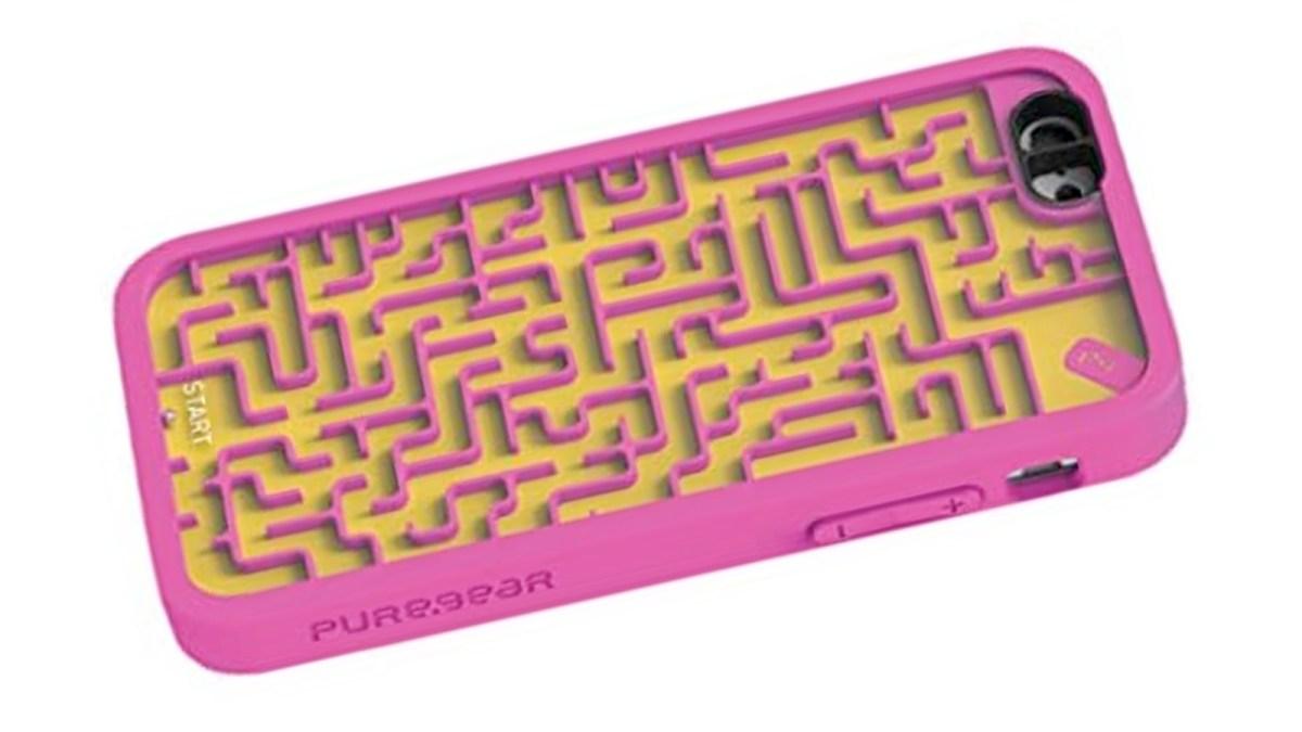 Ball maze iPhone case   Boing Boing
