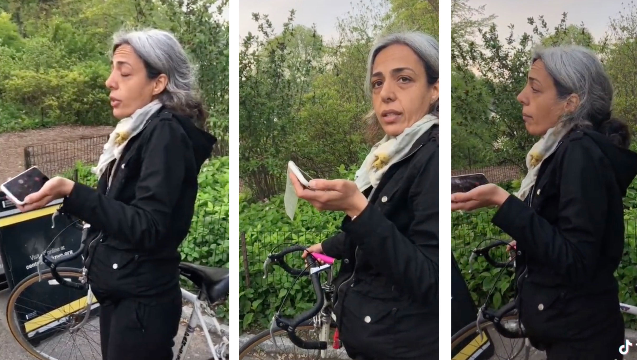Watch this Central Park Karen lie about being assaulted by two Black women
