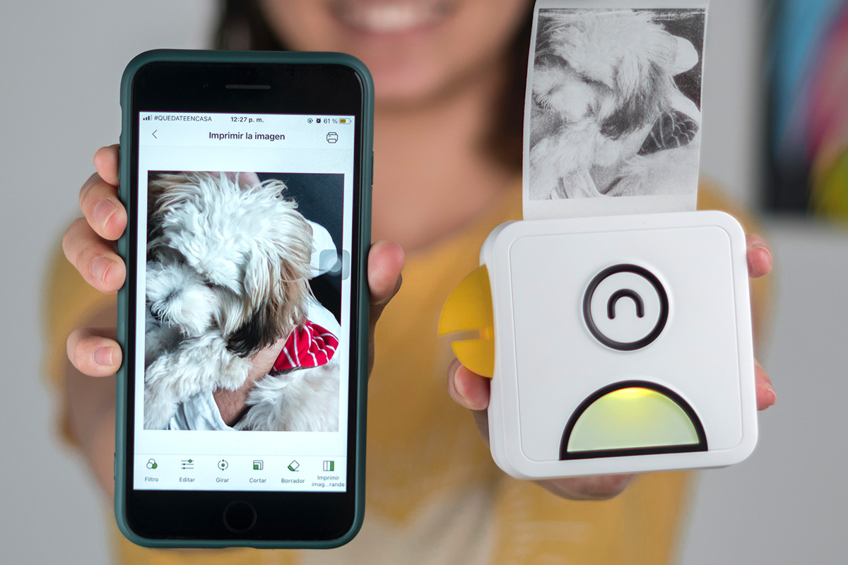 This pocket-sized printer syncs to your phone to print photos and more instantly | Boing Boing