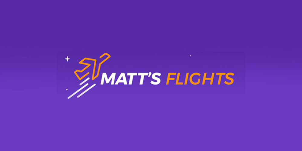 Matt's Flights sends you the best discounted airline rates as they happen for $30