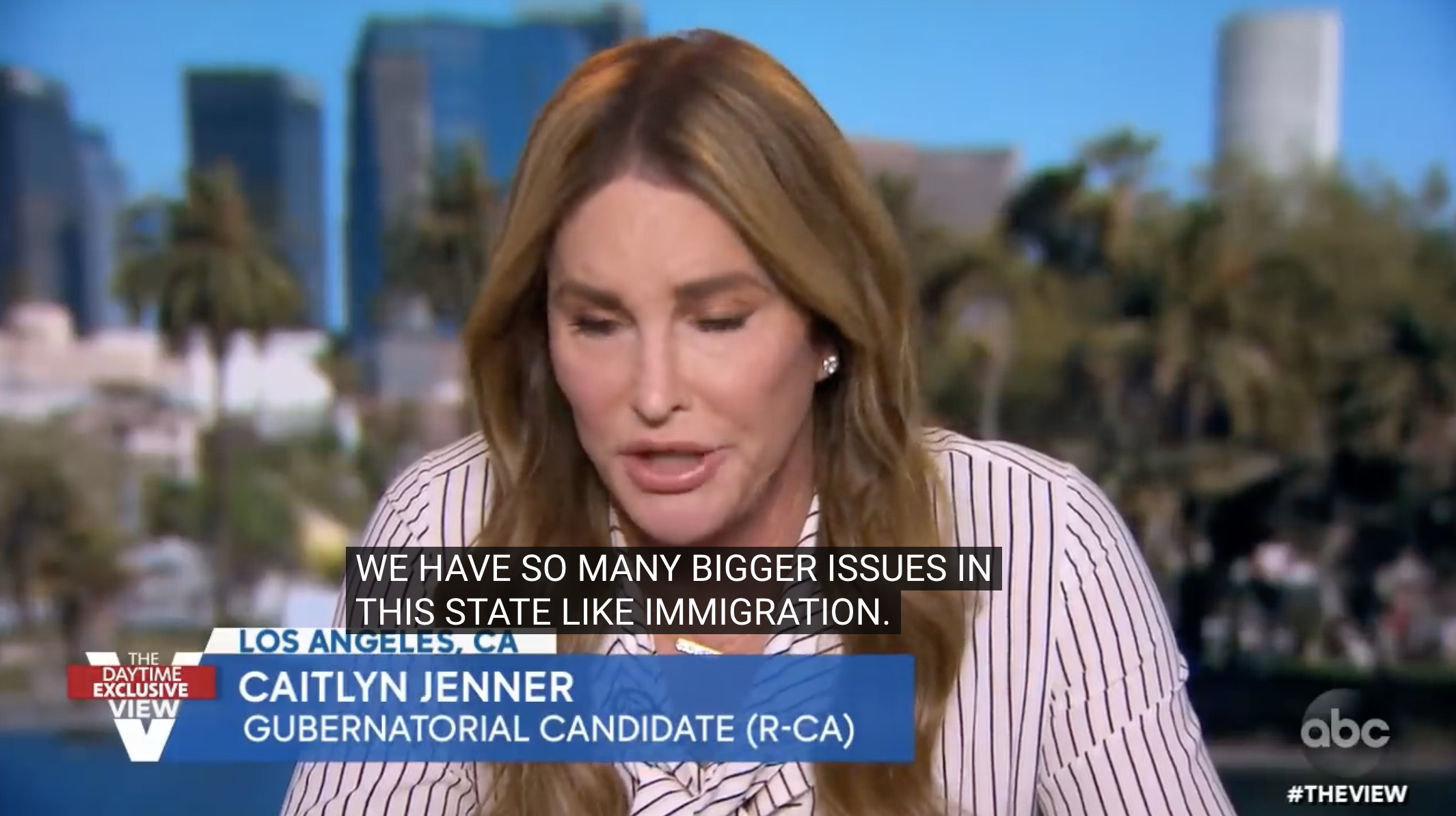 Watch: Caitlyn Jenner won't say whether she thinks Biden won the election