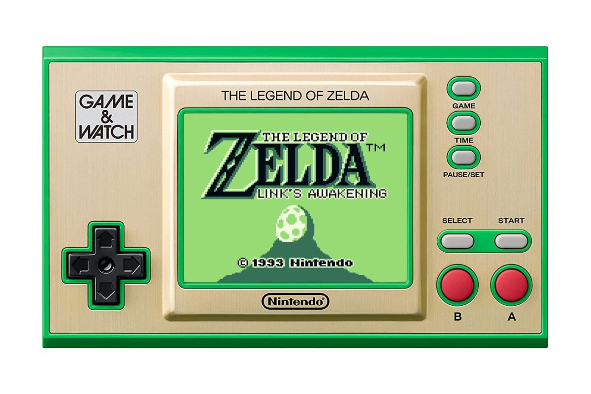 Nintendo Game & Watch: The Legend of Zelda is available for pre-order and is coming in November | Boing Boing