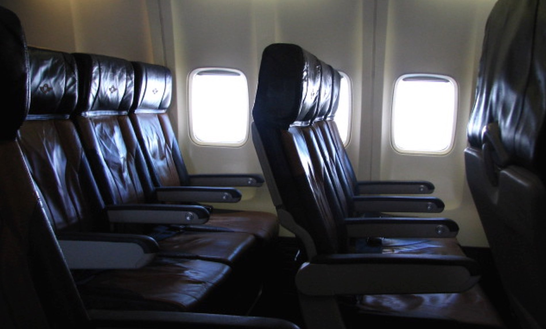 These are the rules for airplane armrests