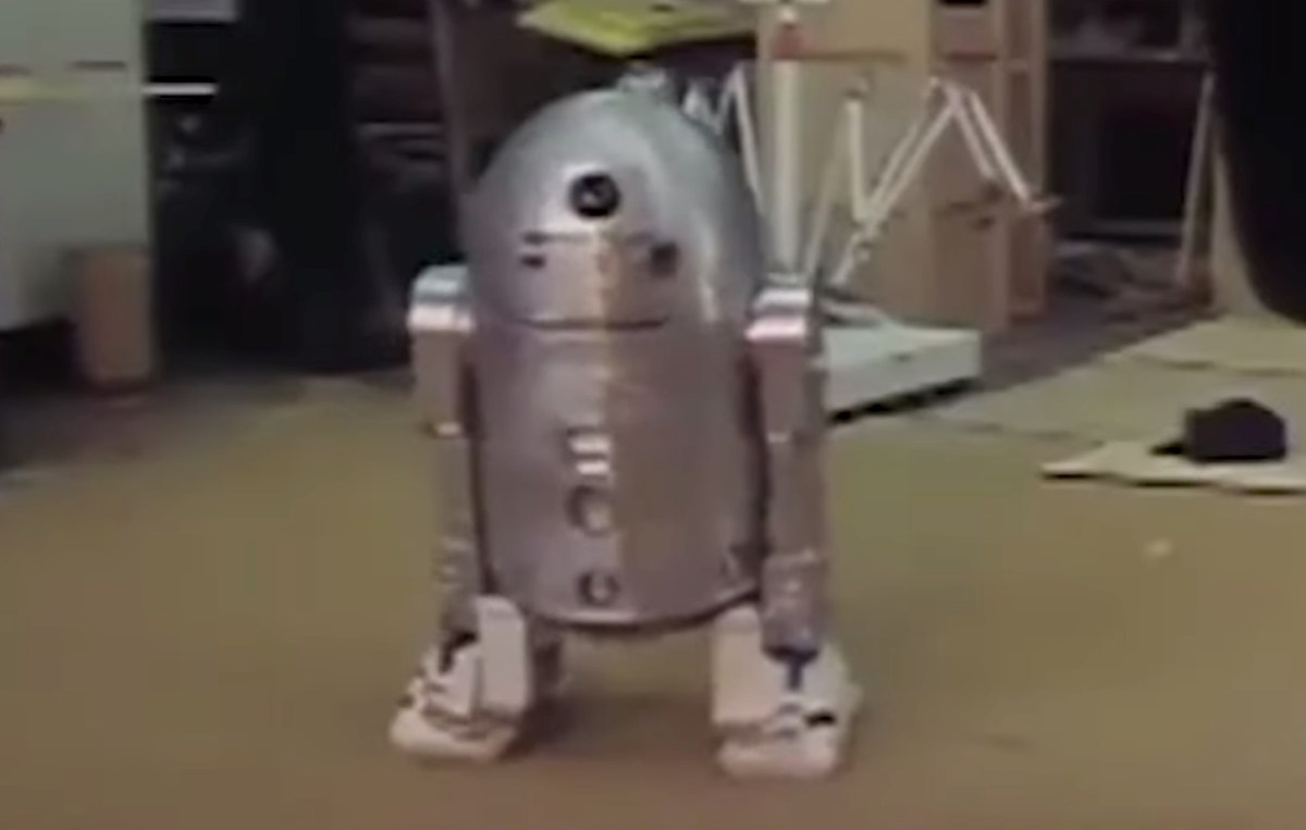 Star Wars: Rare footage of screen tests with the unfinished droids (1976) | Boing Boing
