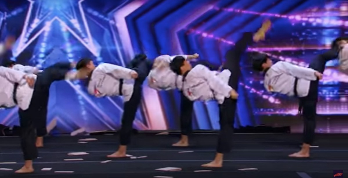 """Incredible Taekwondo troupe turns down the Olympics but gives outstanding performance on """"America's Got Talent"""" 