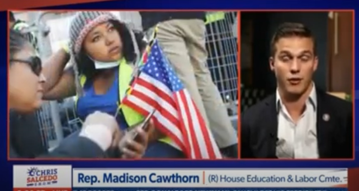 """Serial liar Madison Cawthorn says Joe Biden is """"having some form of degradation of his mind"""""""