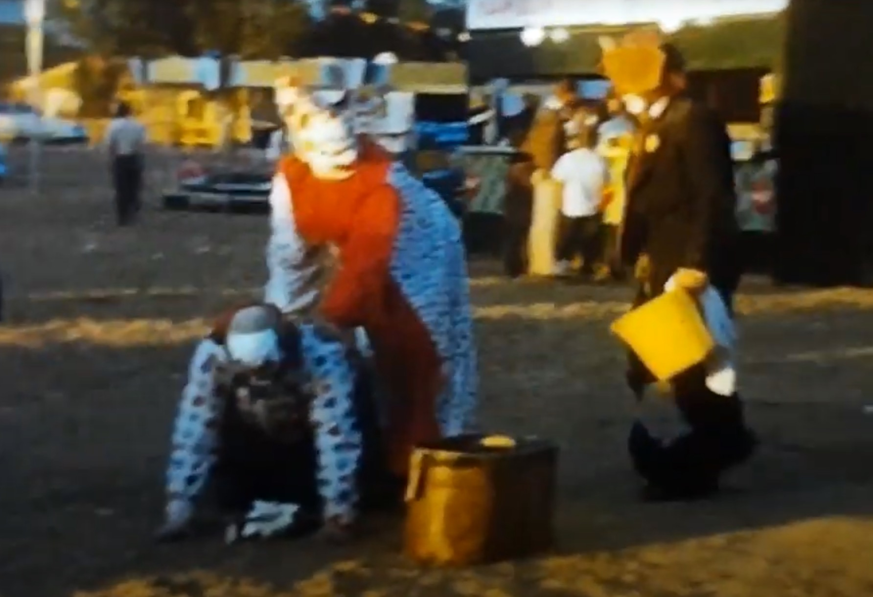 Watch this 8mm movie of a circus in Alaska in 1966