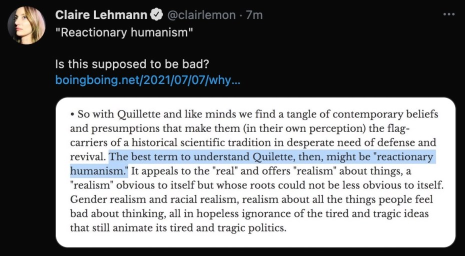 Why Quillette Sucks |  Boing boing