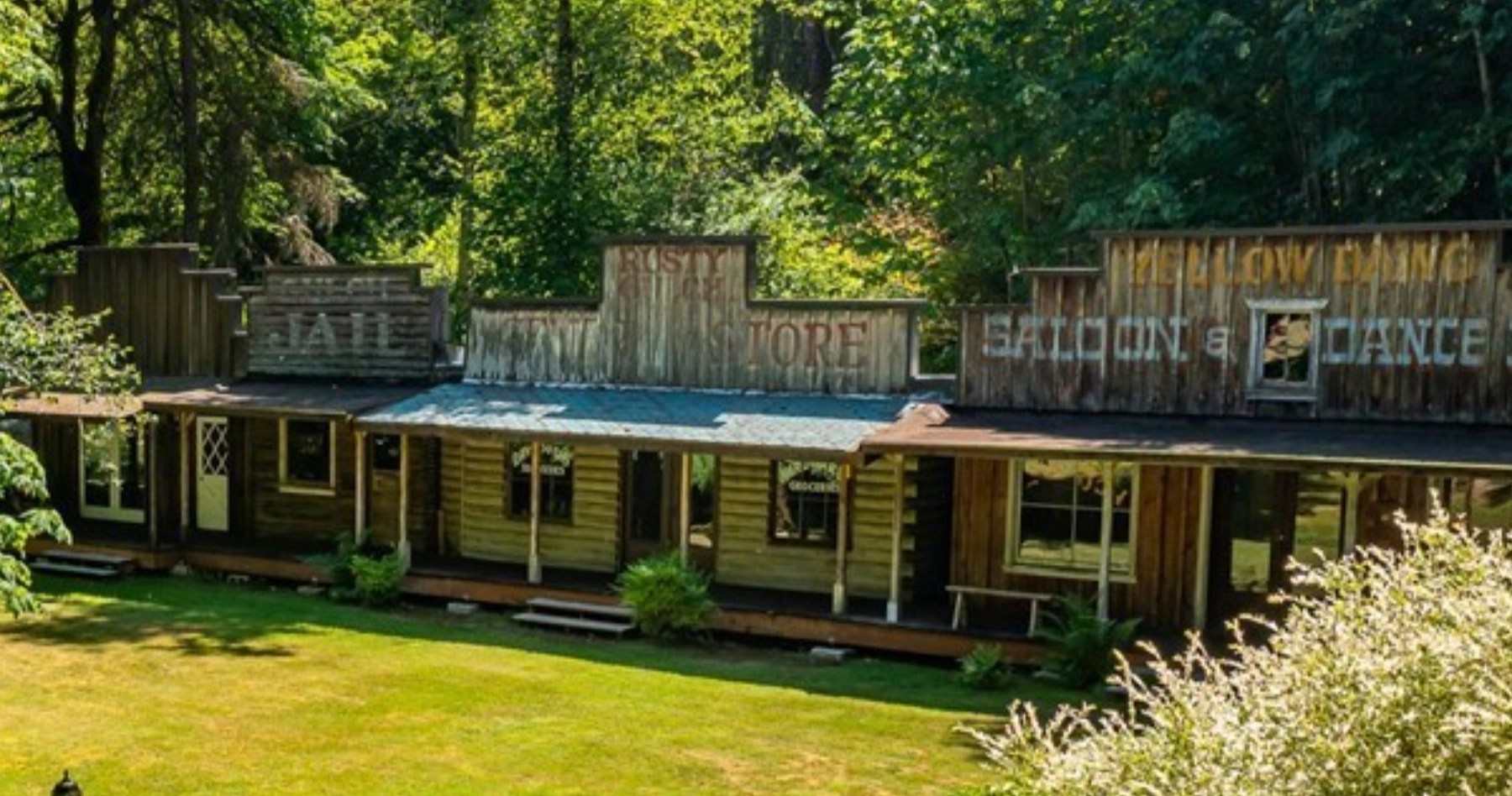 For sale: Conventional large home with an 1800s western ghost town in the backyard