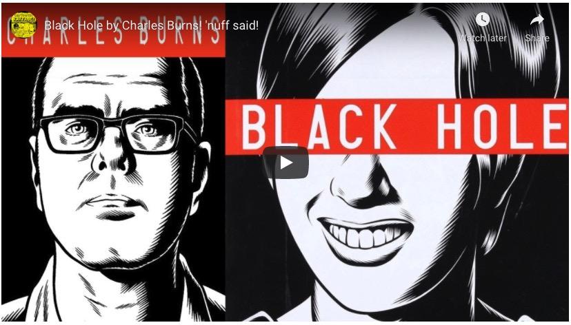 "Dive deep into Charles Burns' ""Black Hole"" on Cartoonist Kayfabe"