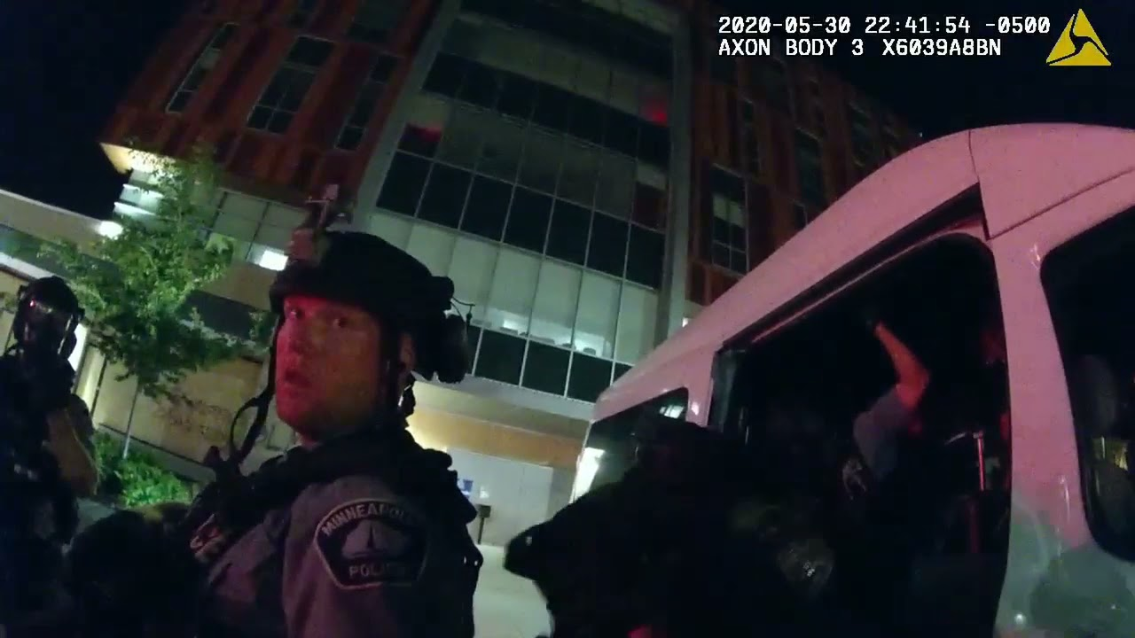 Watch body cam footage of police bragging about hunting activists