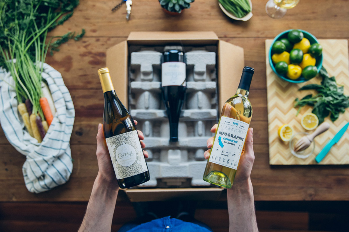 6 bottles of premium wine catered to your taste is definitely something to cheers about