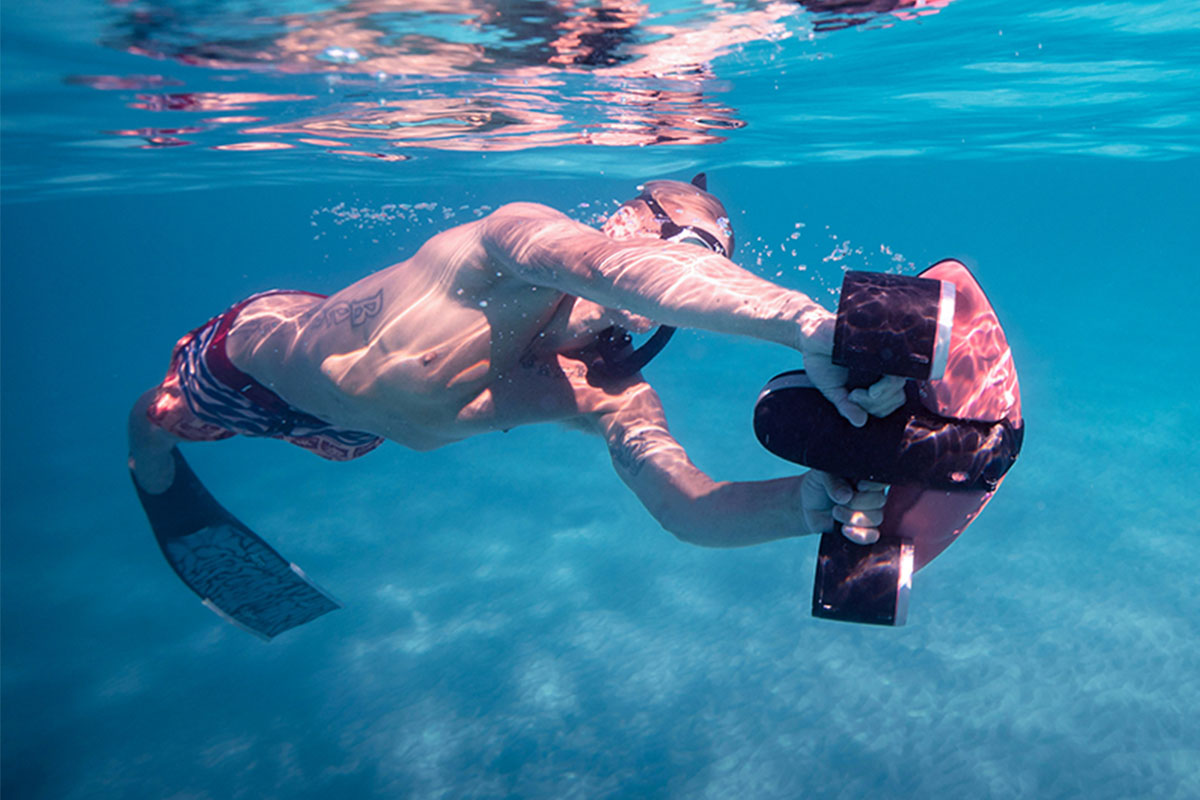 Elevate your diving and underwater photography with $99 off a Navbow Scooter