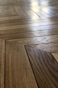 0196 Pose parquet bordeaux