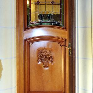 porte d'entrée chêne laventie