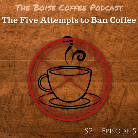 Five Attempts to Ban Coffee logo