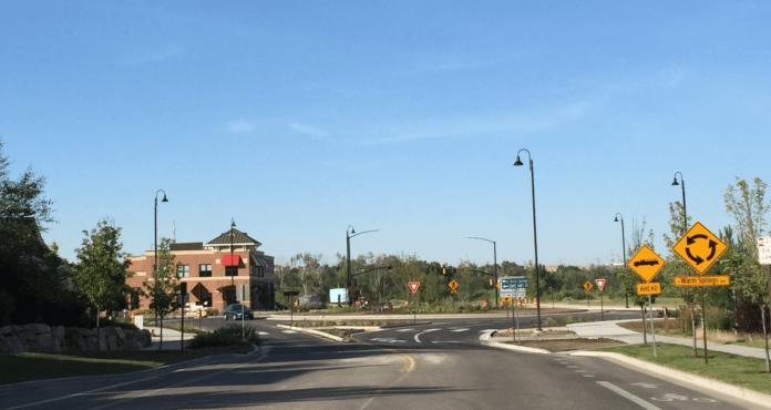 Ada County roundabout