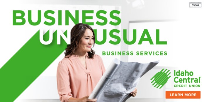 Idaho Central Credit Union Business Banking