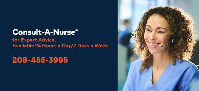 Consult-a-Nurse phone line