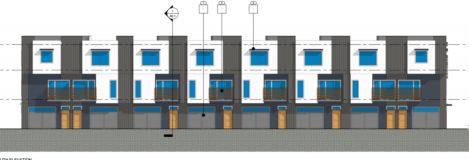 Townhomes proposed to slide into small Bench lot
