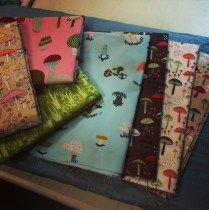 Lindsey's mushroom fabrics