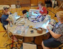 women sewing