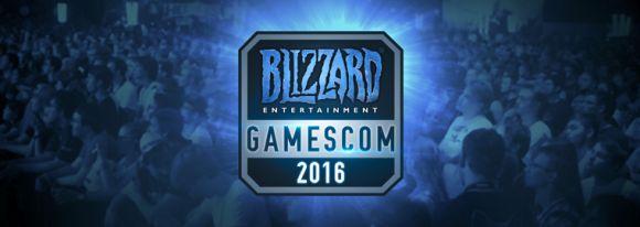 Blizzard attendu à la Gamescom