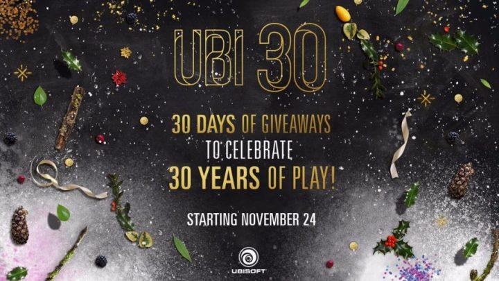 Ubi 30 : c'est Noël pendant un mois