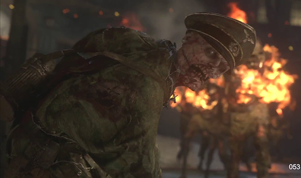 Call of Duty WWII présente son mode zombie
