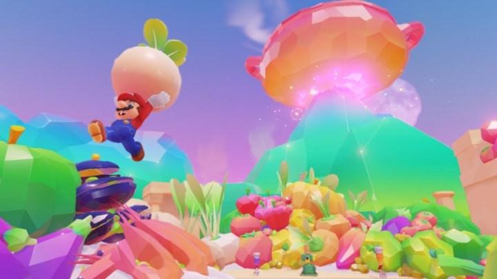 Mario Odyssey: présentation du Lunching Kingdom