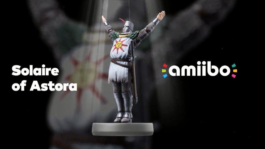 L'amibo de Solaire ainsi qu'un test réseau pour Dark Souls remastered pointent le bout de leurs nez!