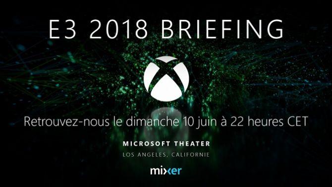 E3 2018 : Un Inside Xbox en plus du direct pour Microsoft :