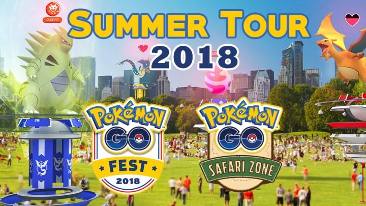 Pokemon Go Summer Tour 2018