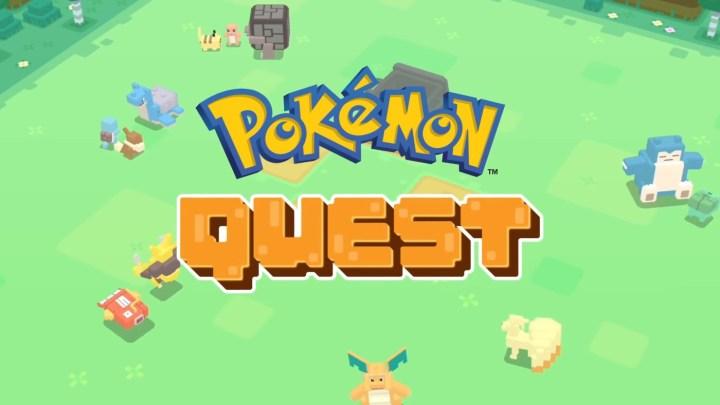 Pokémon Quest : un nouveau jeu gratuit pour Nintendo Switch