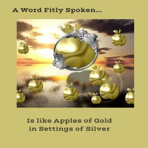 words fitly spoiken