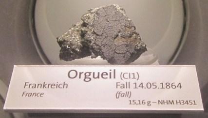 Meteorit Orgoueil je najverjetneje ostanek kometa