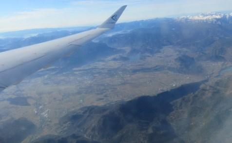 Brezniške Peči iz letala