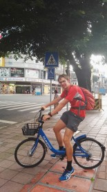Cicycling across the city