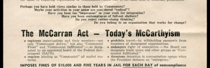 Image result for mccarran act of 1952